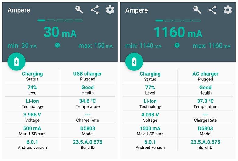 androidpit батареи советы ампер