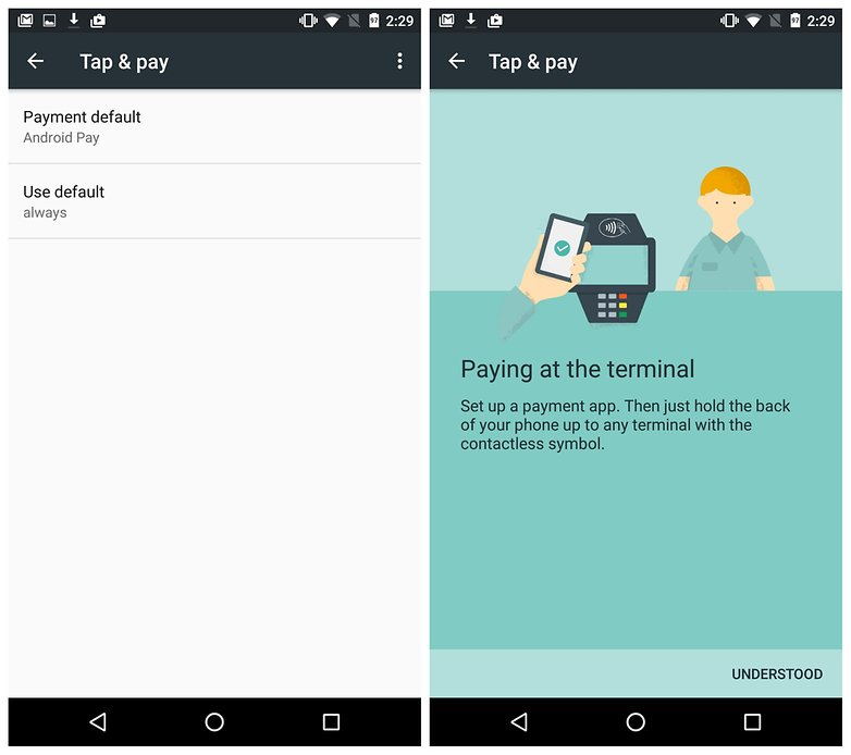 AndroidPit Tap and Pay Nexus 5 советов