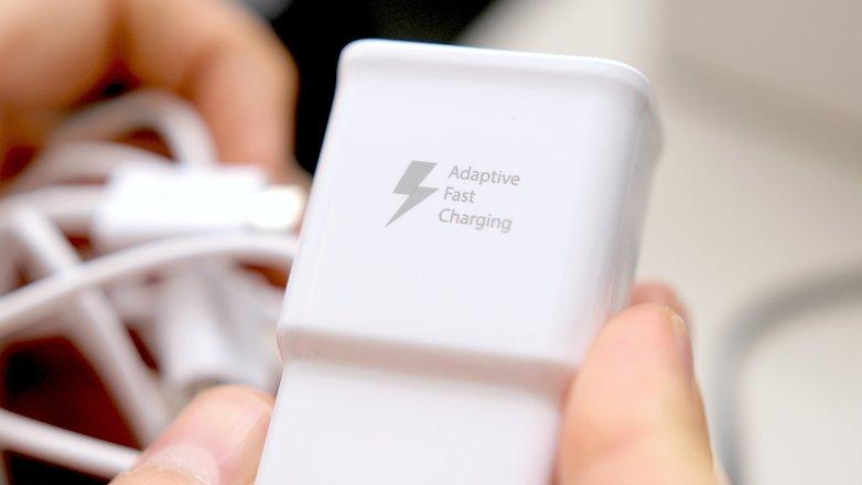 androidpit samsung быстрое зарядное устройство примечание 5