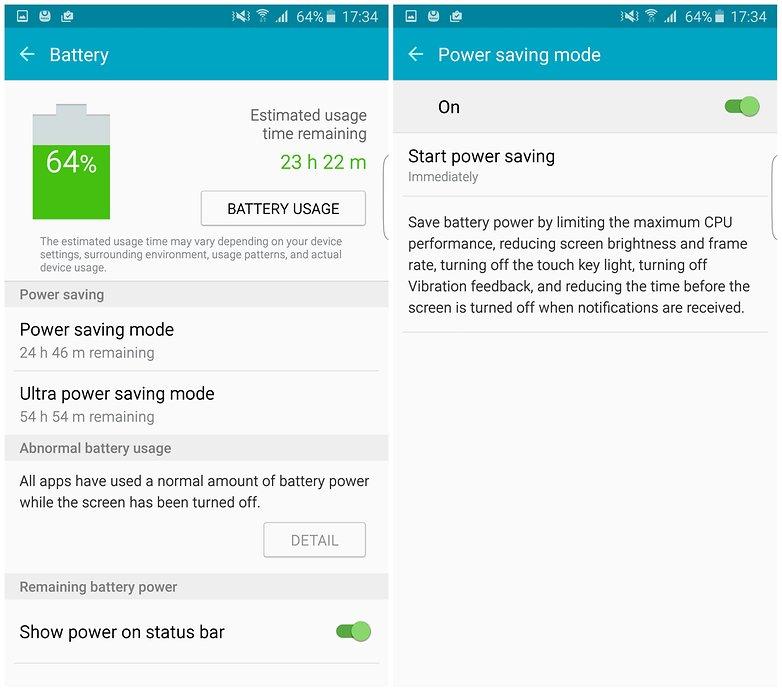 androidpit samsung galaxy s6 edge plus энергосберегающий аккумулятор