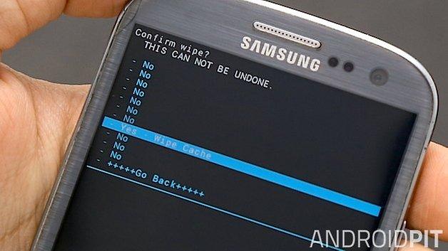 кеш загрузчика androidpit galaxy s3 recovery