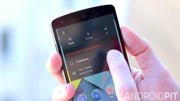 AndroidPit Nexus 5 режим приоритета леденца на палочке 2