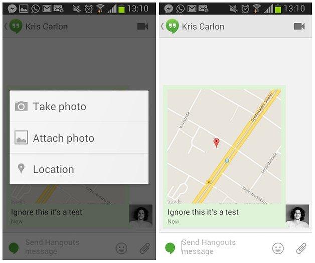 androidpit поделиться местоположением видеовстречи