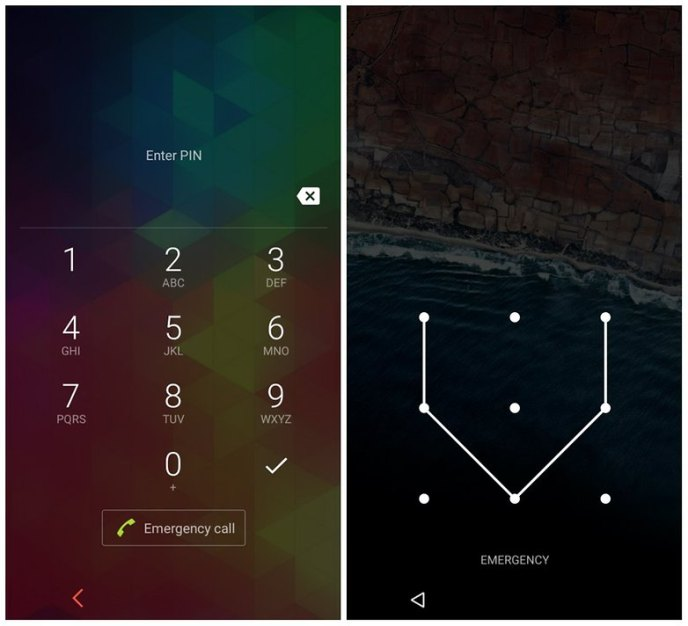 androidpit lock screen security one