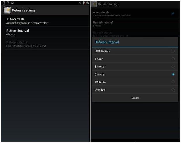 androidpit xperia z3 tablet компактные виджеты 2