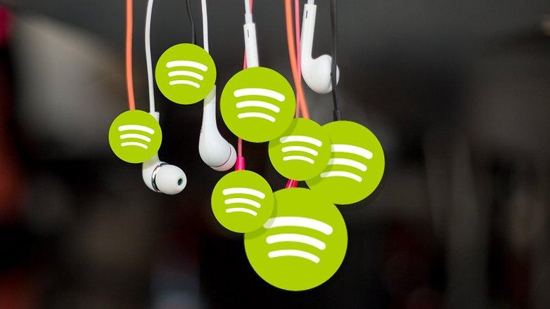 AndroidPIT наушники eardrops spotify
