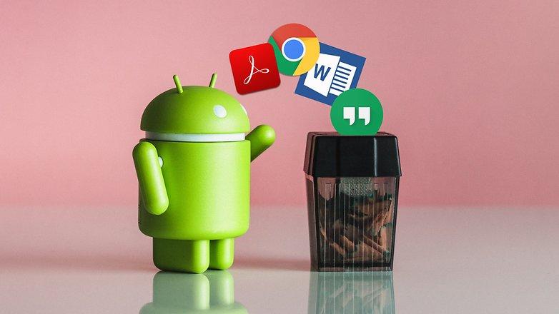AndroidPIT удалить приложения 2781
