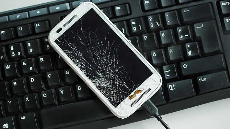 Использование AndroidPIT с неработающим дисплеем