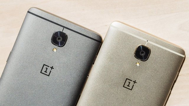 AndroidPIT OnePlus3 soft gold vs gray silver 6634