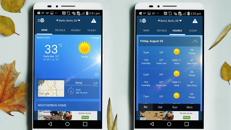 AndroidPIT weather apps 6