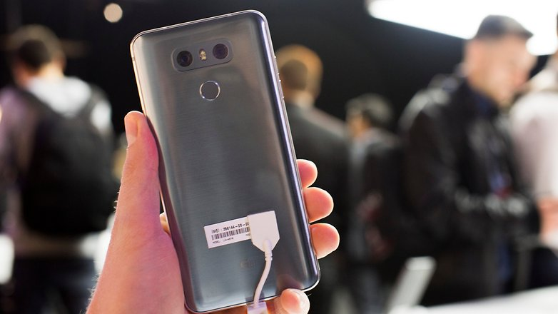 AndroidPIT LG G6 MWC 2017 hands on 12