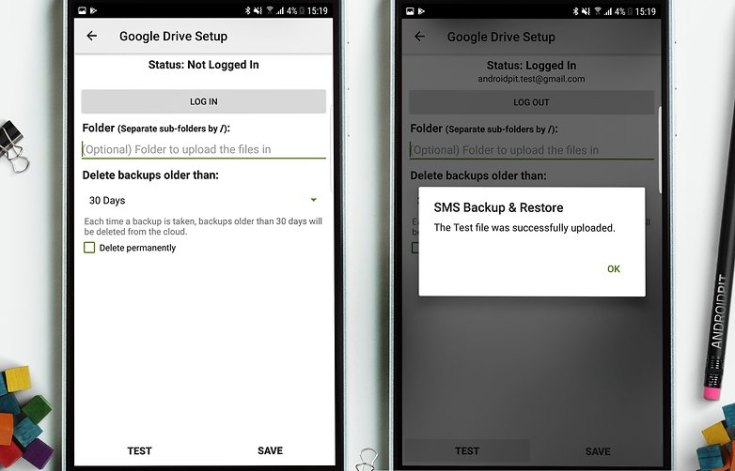 AndroidPIT sms backup 3