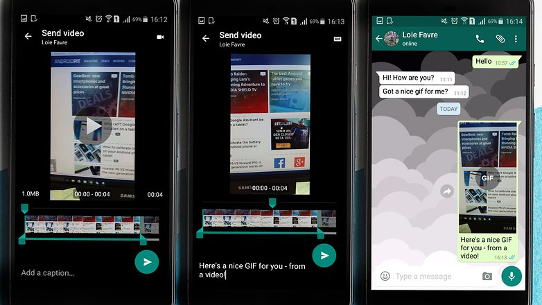 AndroidPIT whatsapp video gif особенность советы хитрости 2