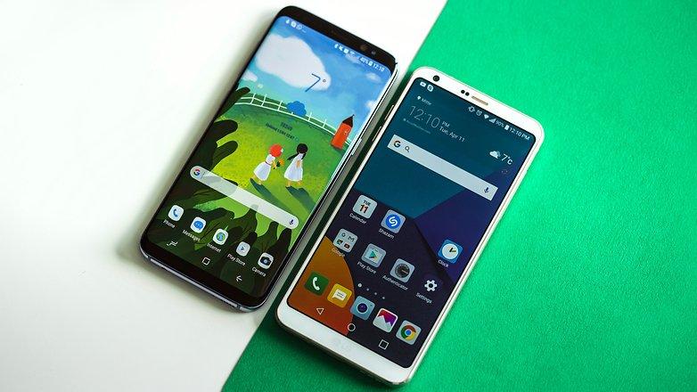 AndroidPIT Samsung Galaxy S8 vs LG G6 2461