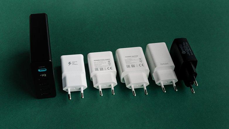 AndroidPIT быстрые зарядные устройства 9867