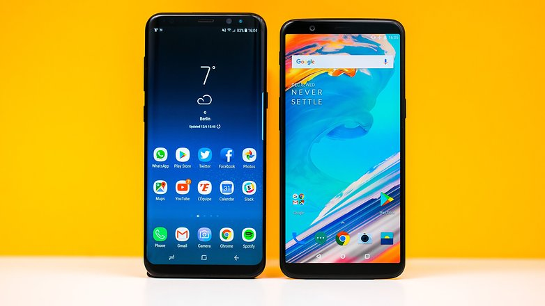 AndroidPIT oneplus 5t vs samsung galaxy s8 plus 6689