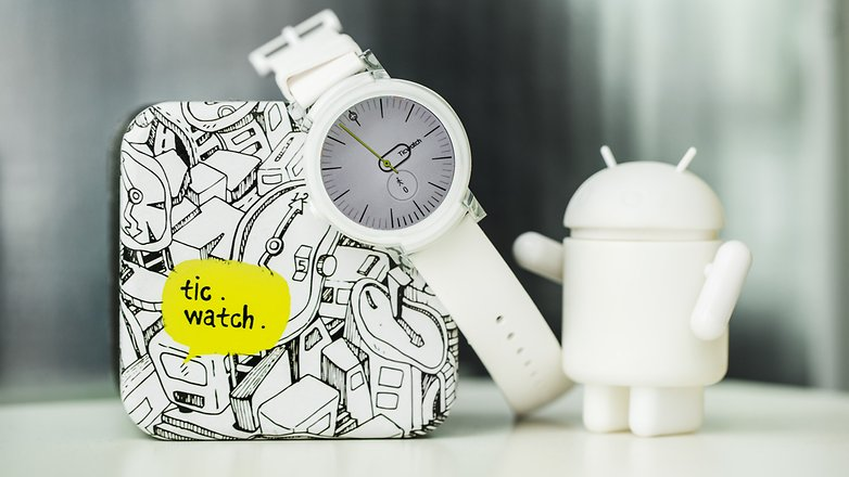 AndroidPIT ticwatch e ticwatch s smartwatch android wear wearables 8127
