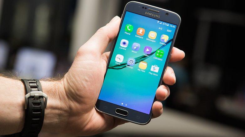 Панель приложений AndroidPIT Galaxy S6 xtrestrolite rom