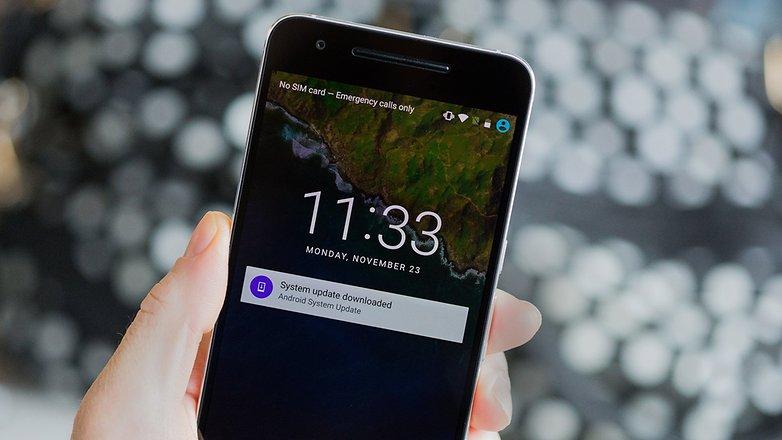 Обновление системы Androidpit Nexus 6P