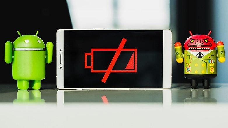 батарея androidpit разряжена 1
