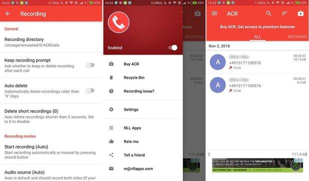 AndroidPIT gabar llamadas