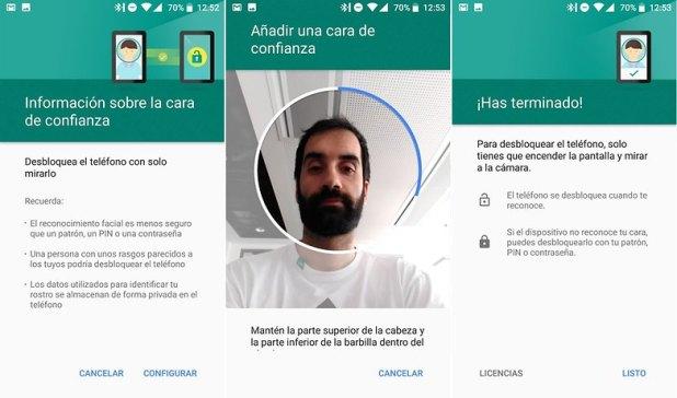 AndroidPIT smart lock reconocimiento facial 03