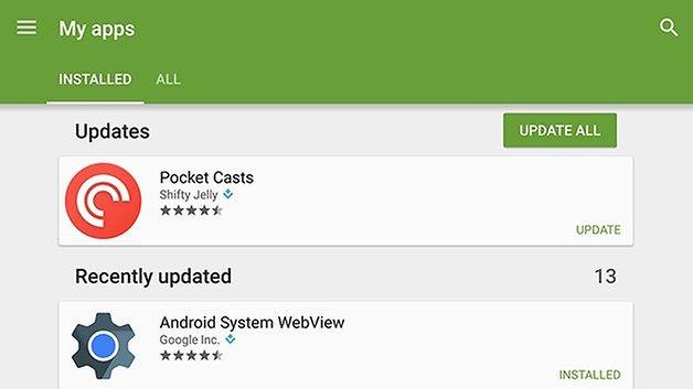 AndroidPIT Nexus 6 мои приложения