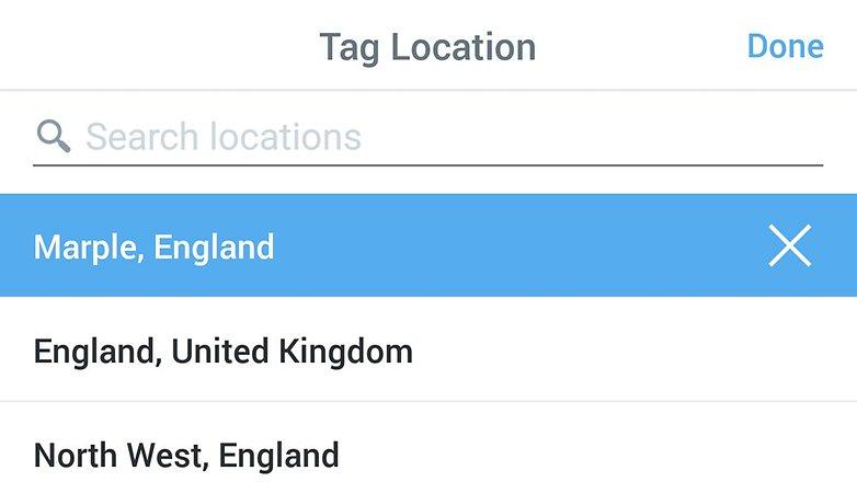androidpit twitter поделиться местоположением
