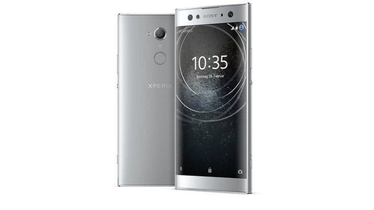 Sony Xperia XA2 Ultra silver