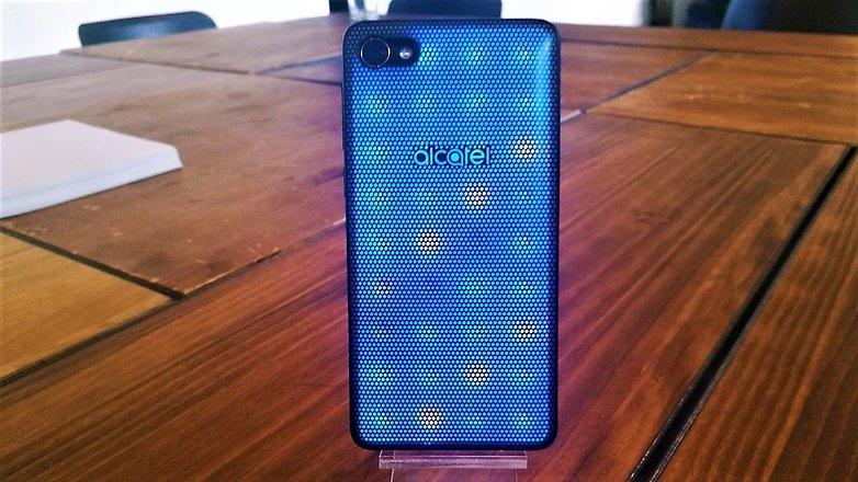 androidpit alcatel a5 светодиодный назад