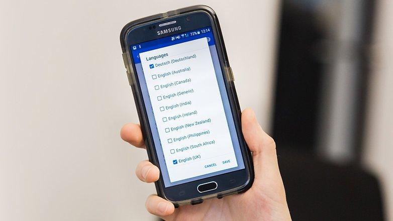 AndroidPIT Google теперь выбор языка