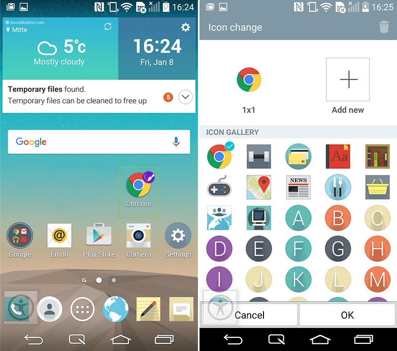 androidpit lg g3 tips and tricks change app icons