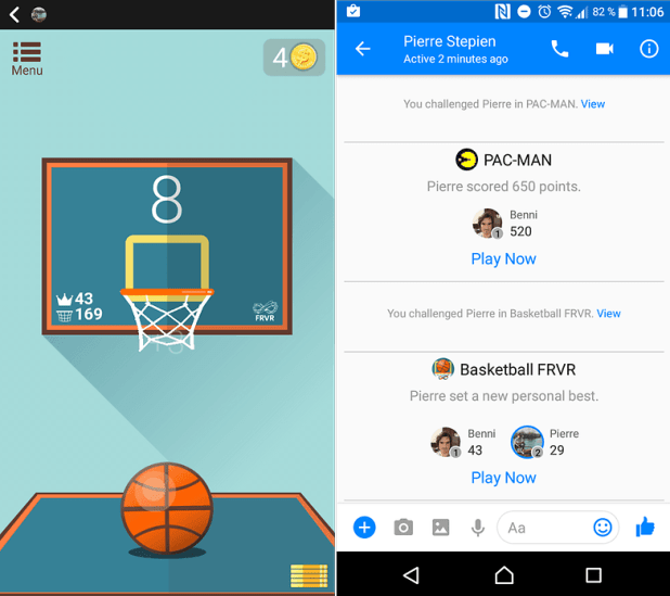 games facebook messenger