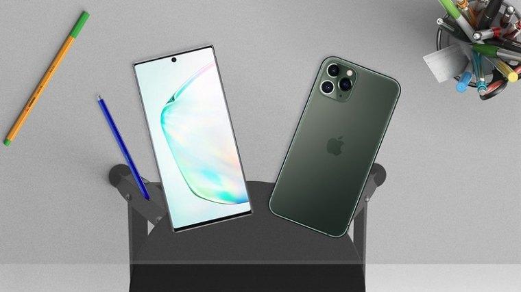 note 10 plus vs iphone 11 max