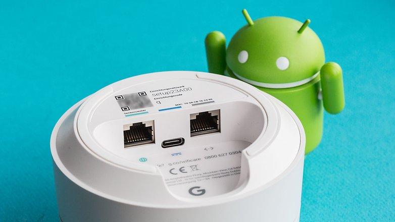 подключения к Google Wi-Fi