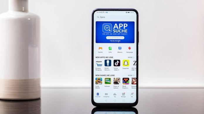 AndroidPIT honor 9x pro app gallery