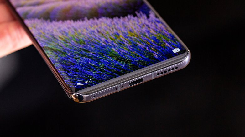 AndroidPIT huawei p40 pro bottom np3