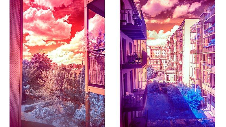 NextPit инфракрасная фотография diy small