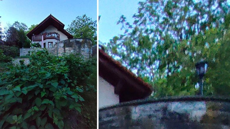 AndroidPIT realme x3 superzoom качество изображения широкоугольный при слабом освещении
