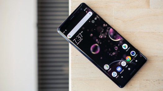 AndroidPIT sony xperia xz3 front2