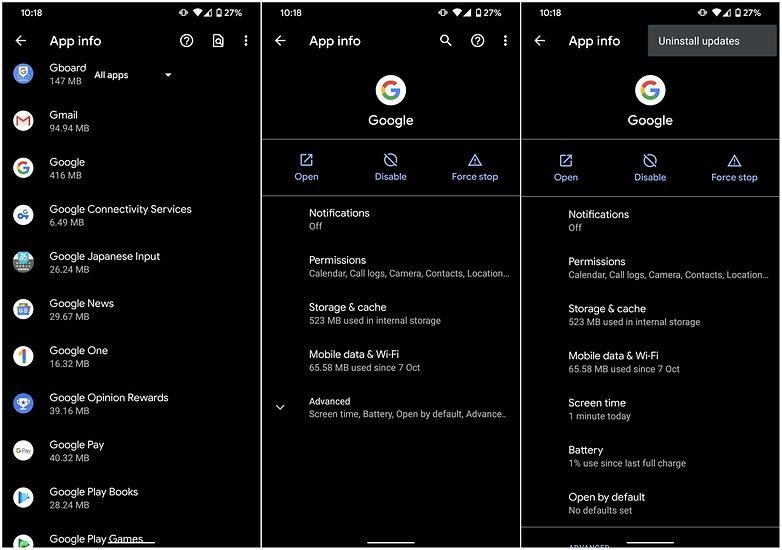 деактивировать Google Assistant3