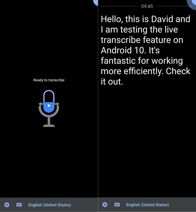 живая расшифровка android 10
