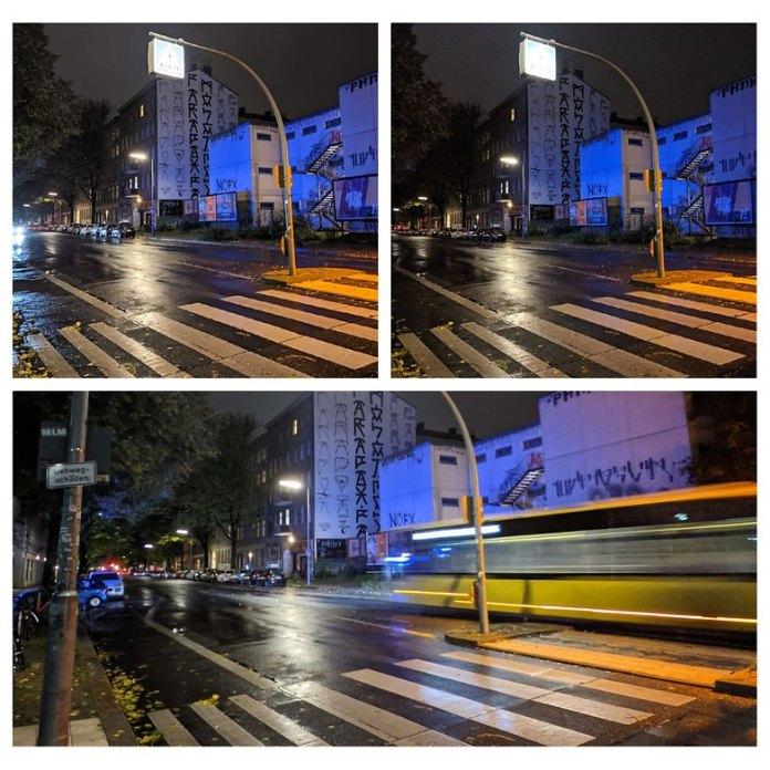 pixel 5 night mode