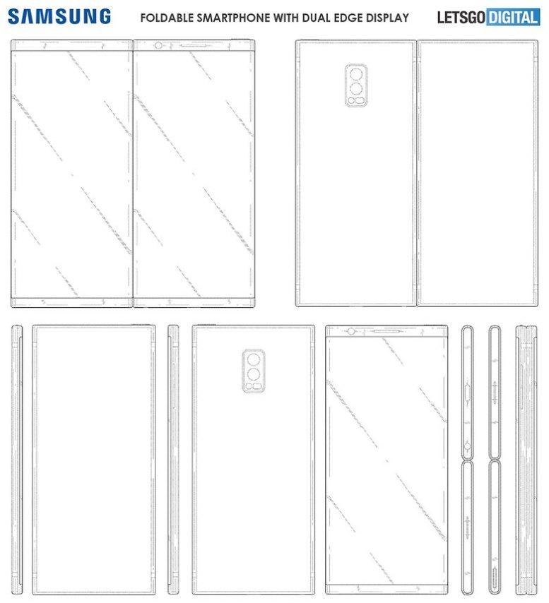 samsung foldable smartphone 3