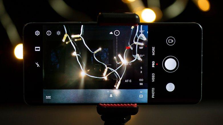 AndroidPIT Firework Photos Ручная фокусировка