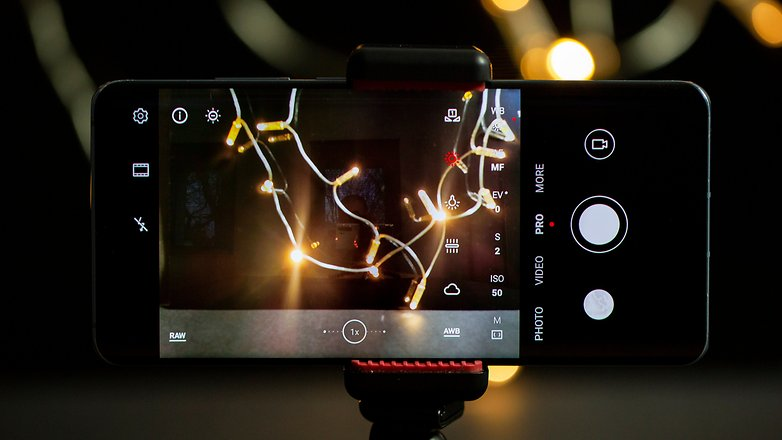 AndroidPIT Firework Photos Баланс белого
