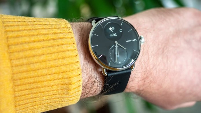 Withings ScanWatch Handson 1