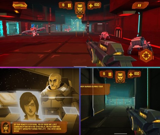 5 apps ios android semaine gameclub neon shadow