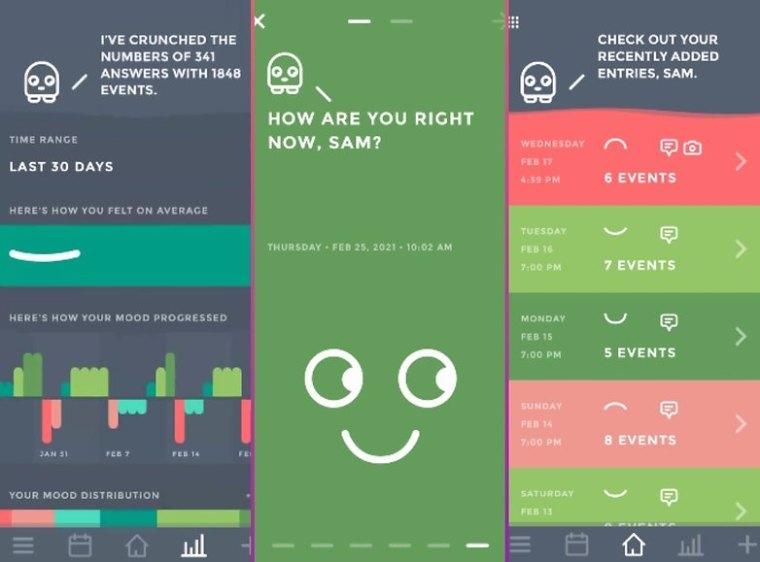 5 apps week 15 moodistory