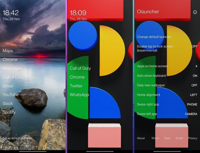 5 apps week 48 olauncher 1